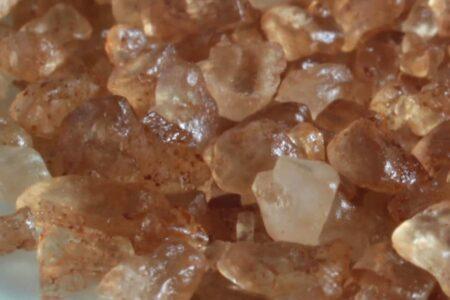 Cristalli di sale affumicato
