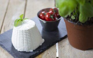 Ricotta pomodori e basilico