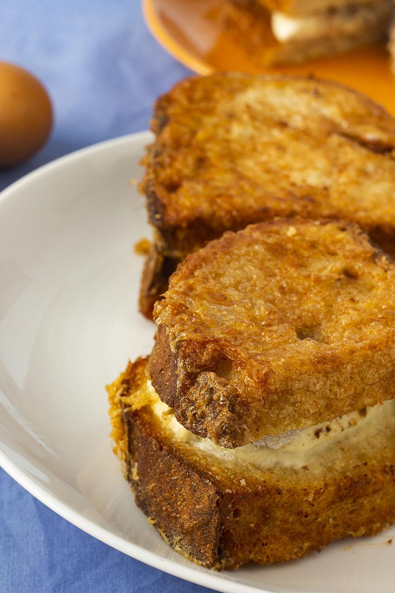 I cuscinetti di pane fritto romano o pandorato