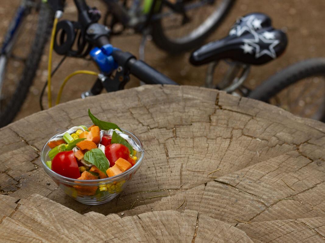 Insalata di pomodori al parco - Ricette Romane