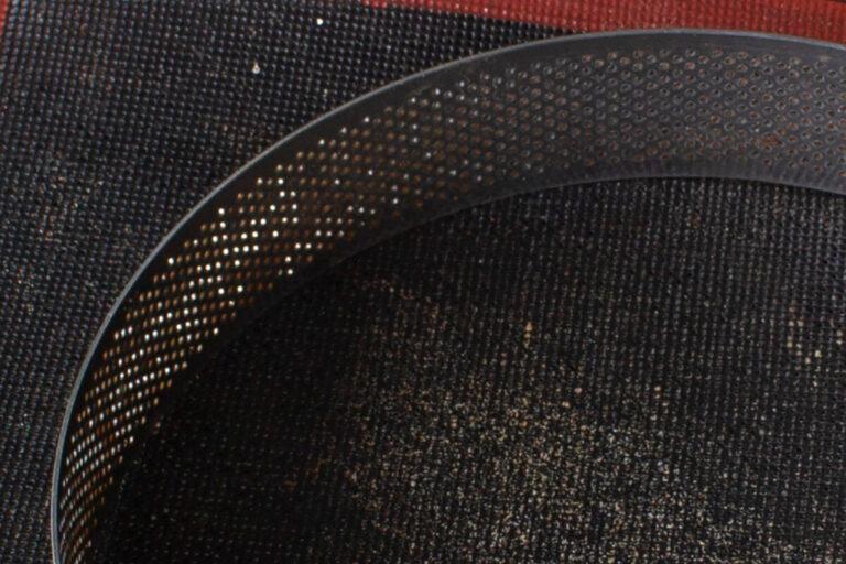 Settore di anello microforato