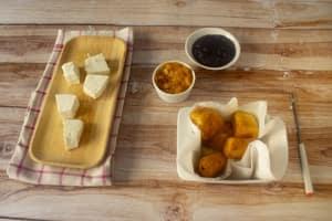 Ricotta alla romana fritta, finger food facile