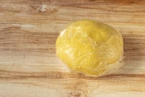 Palla di pasta nel cellophane