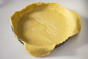 Pasta stesa su teglia